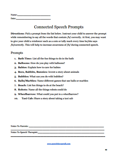 summer speech therapy games