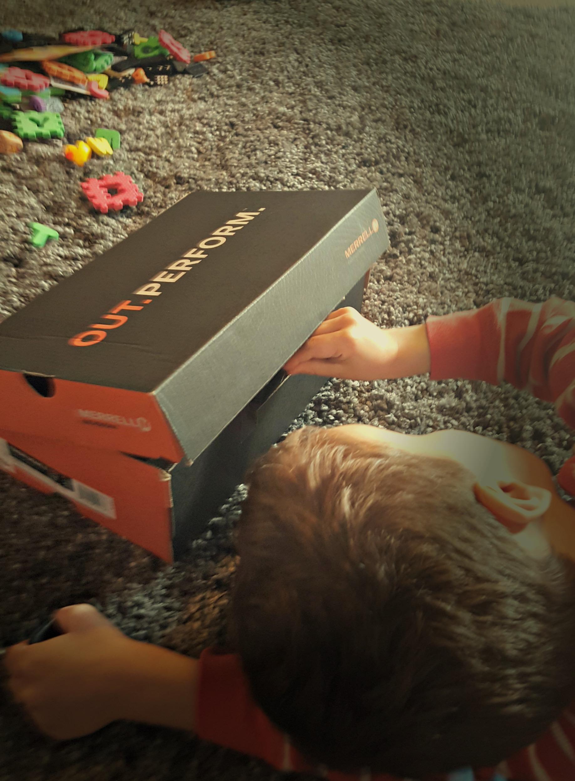 speech therapy shoe box