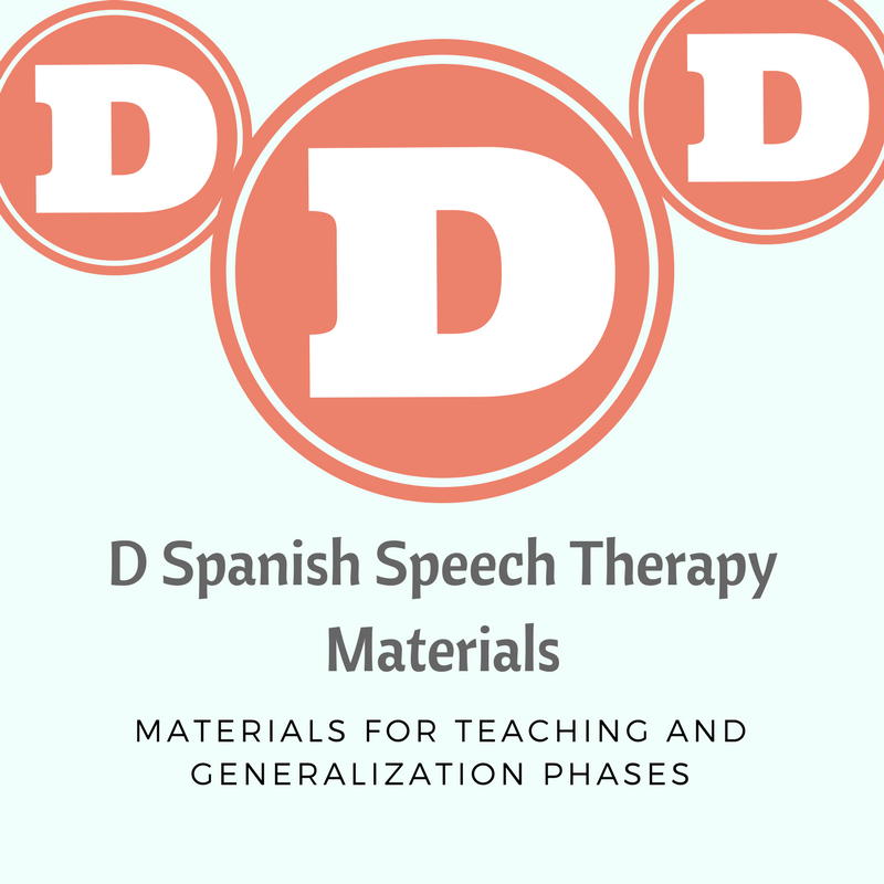 Spanish D Materials