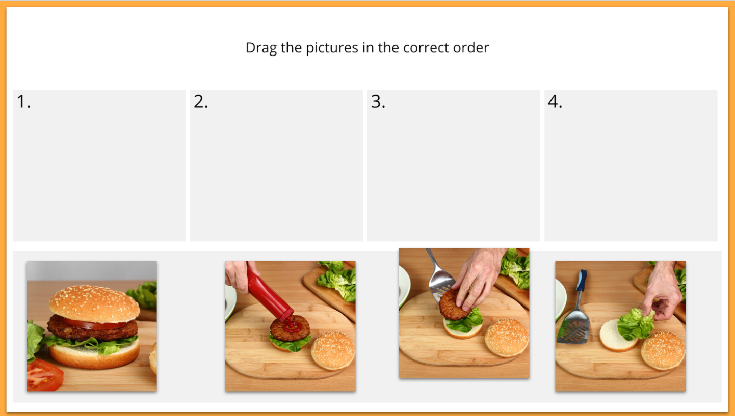activities of daily living sequencing skills