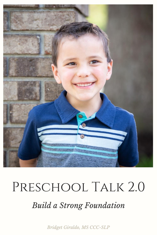 Preschool Talk 2.0