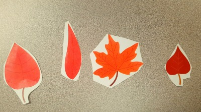 speech therapy fall leaves