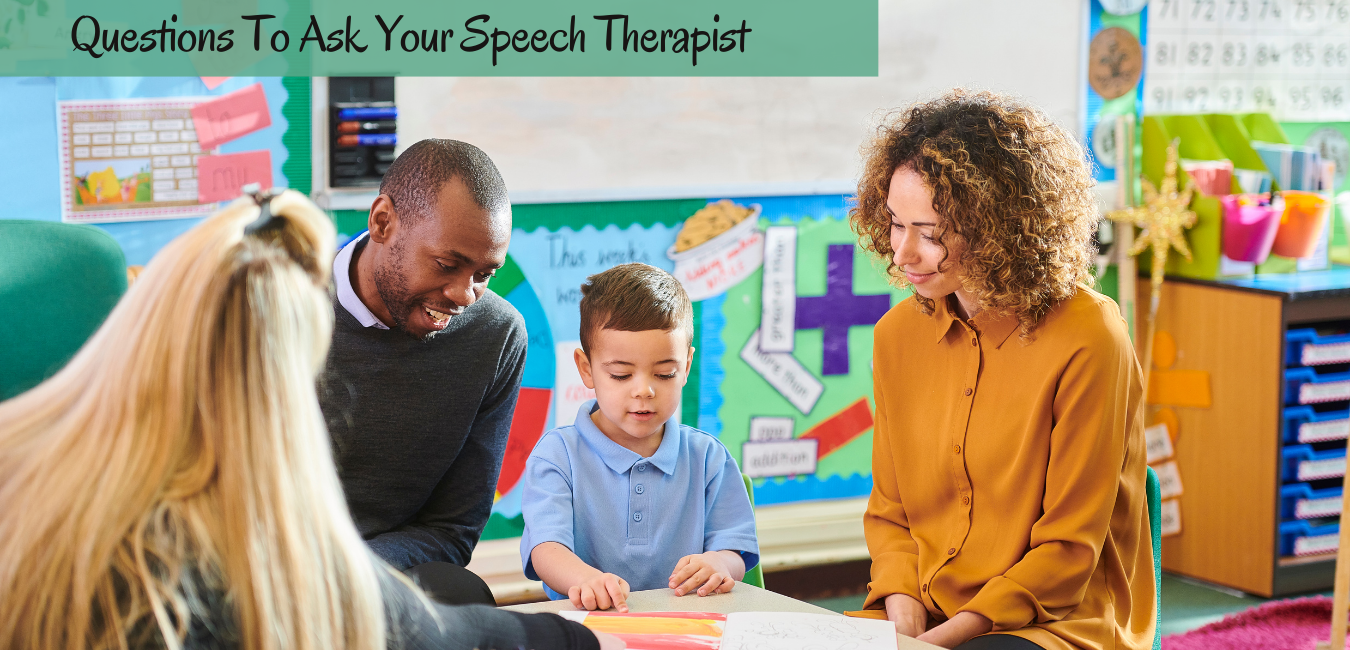 questions to ask speech therapist
