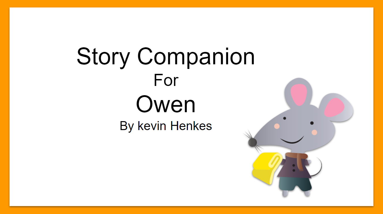 spring story companions speech therapy
