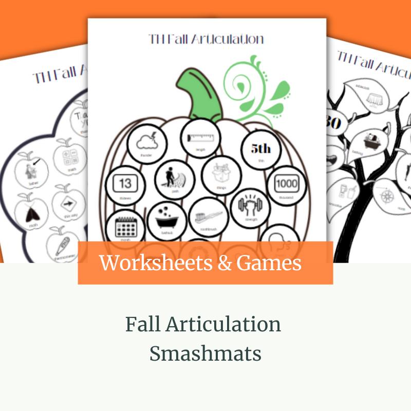 Fall Articulation Smashmats
