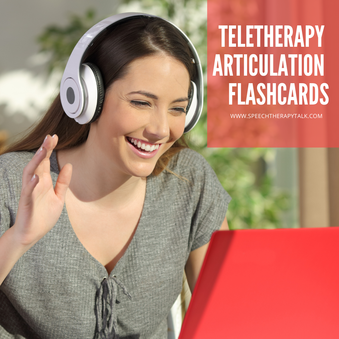 Teletherapy Flashcards For Speech Therapy